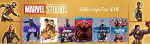 MARVEL STUDIOS | Filme und Serien | 2x Blu-Ray 16,66€ | Agents of S.H.I.E.L.D., Agent Carter, Thor, Avengers, Black Panther... [zoom]