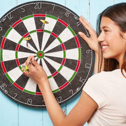 Sisal-Dartscheibe ähnlich WINMAU Diamond Dartboard für nur 19,99€ bei (Aldi Nord)