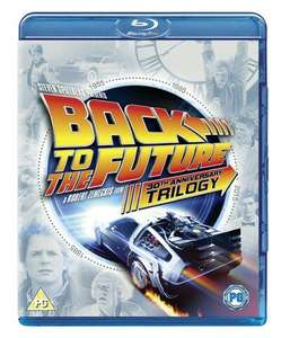 Zurück in die Zukunft / Back to the future Trilogie (4x Blu-ray) [zoom]