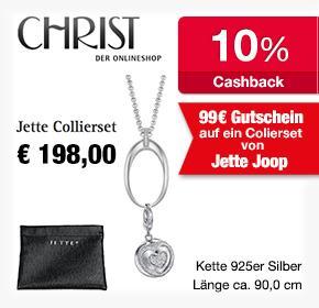 Christ Jette Collierset für 99 statt 198€, kostenloser Versand und 10% Cashback!