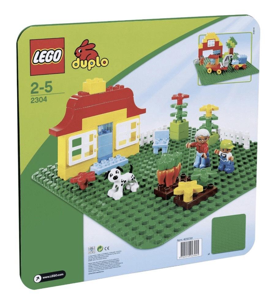 Lego Duplo große Bauplatte grün (2304) [offline]