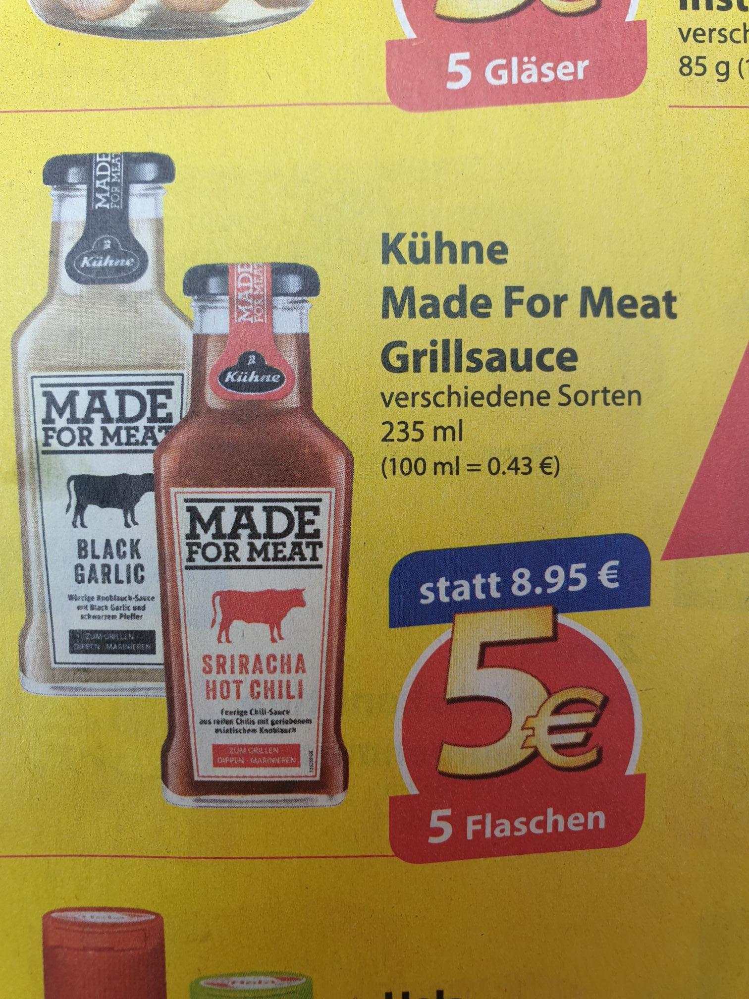 Famila nordost Sammeldeal alles für 5€ ! 5x Kühne made for Meat,10x Katjes, 8x Buitoni Pasta, 5x Nimm 2 usw.