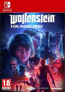 Wolfenstein Young Blood Game Key Digital Deluxe (Switch)