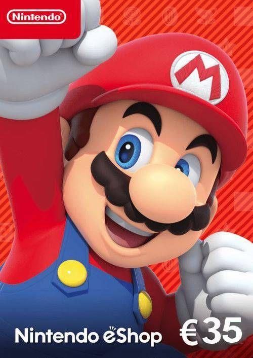 Nintendo eShop Guthaben 35€ für 29,99€ (CDkeys)