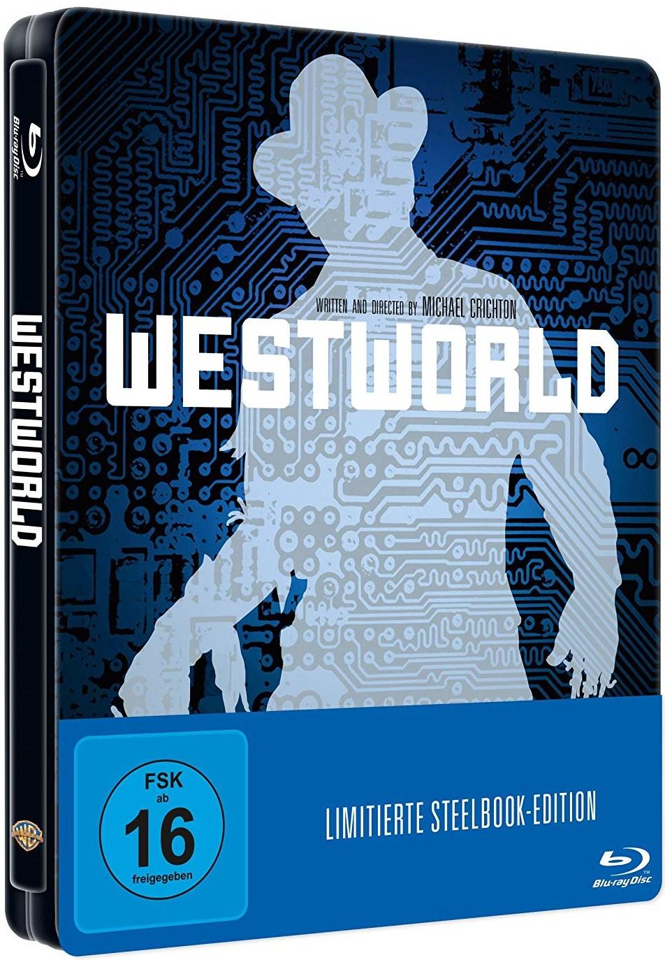 [Amazon Prime] Westworld (Blu-ray Steelbook) für 11,31€ inkl. Versand