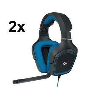 [Media Markt + Masterpass] 2x Logitech G430 7.1 Surround-Sound Gaming Headsets für 46,75€ inkl. Versand
