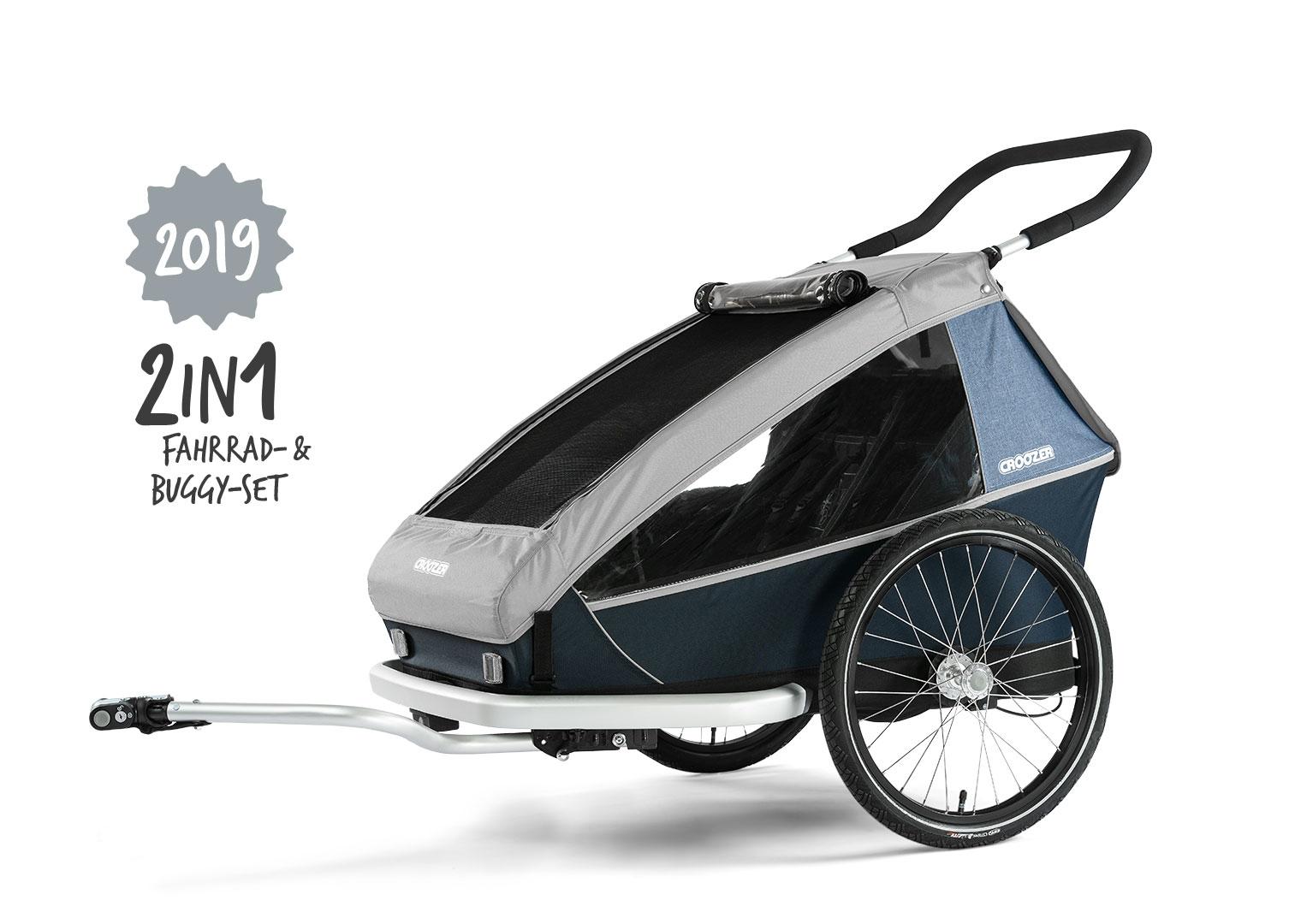 30-50% auf alle Fahrradanhänger, z.B.  Croozer Kid for 2 (2018) für 320€ im Croozer Store BismarckStr. wegen Räumungsverkauf! (LOKAL KÖLN)