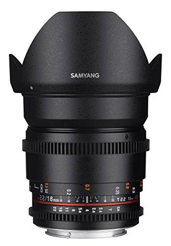 [Amazon.de] SAMYANG 13016T2.2F T2.2 VDLSR ED UMC CS II Objektiv für Anschluss Fuji X (16mm) - nur 1 Stk