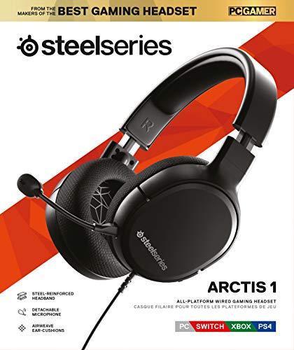Steelseries Gaming Headset Arctis 1, kabelgebunden, schwarz