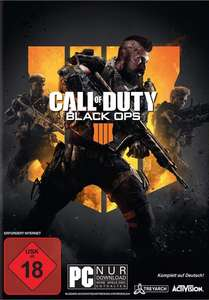 Call of Duty: Black Ops 4 (PC) für 12€ (GameStop)