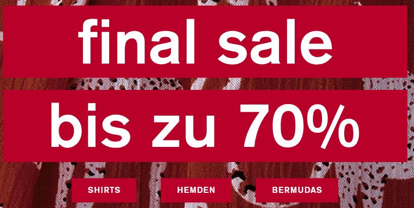 S.Oliver Final Sale (bis zu -70%)  + 10% Newsletter-Gutschein