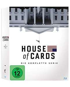 House of Cards - Die komplette Serie  (Bluray)