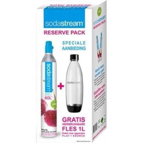 SodaStream Reservepack mit CO2-Zylinder und PET-Flasche bei LIDL