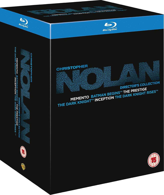 Christopher Nolan Collection (Blu-ray) für 21€ (Zavvi)