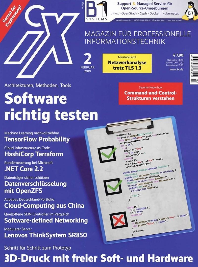 iX Magazin Abo (12 Ausgaben + Sonderheft) mit 50% Rabatt für 51,35 €