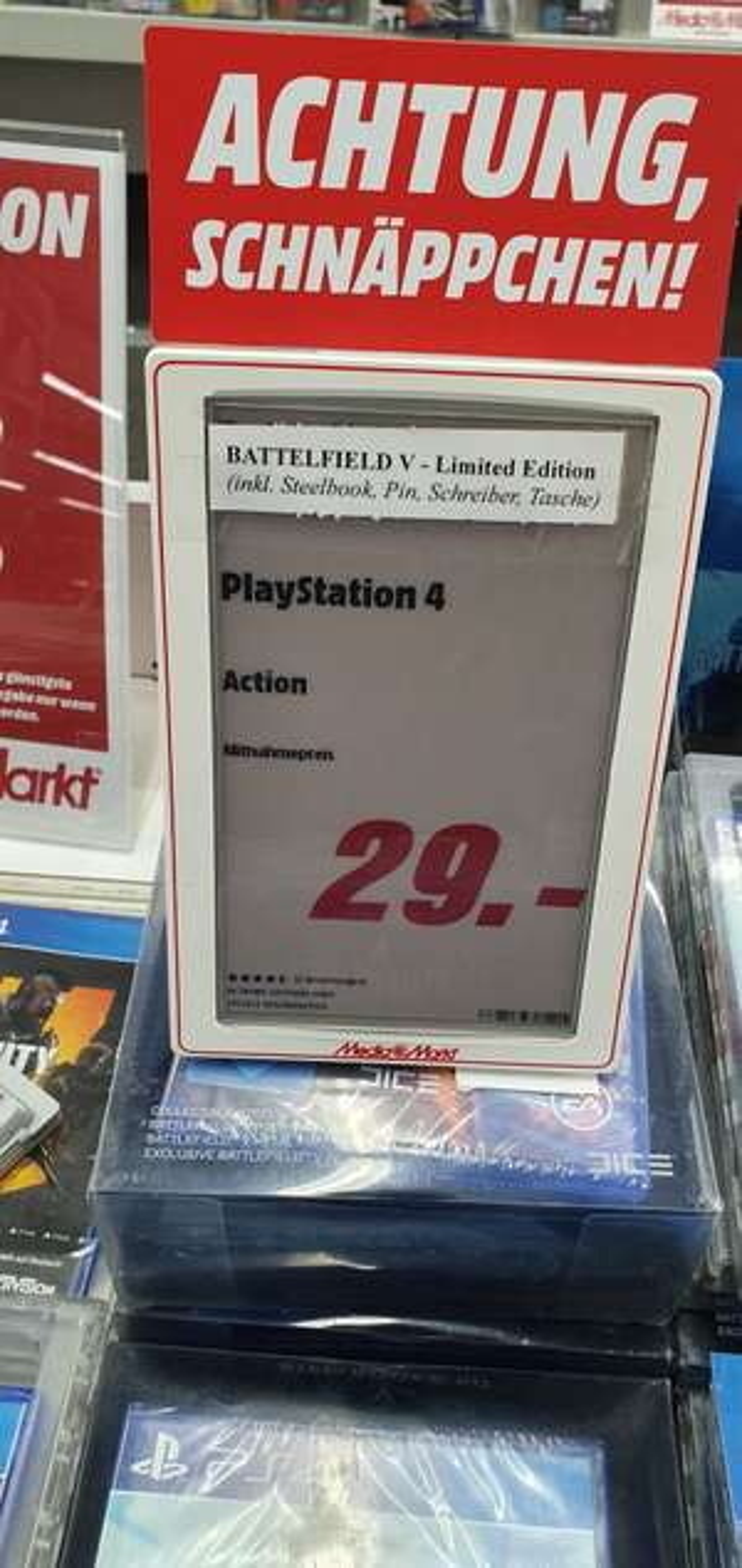 [Lokal HH-Nedderfeld] Battlefield V Limited Edition PS4