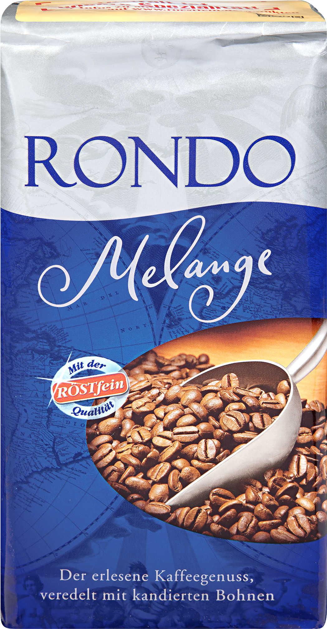 [Kaufland][Neue Bundesländer+Berlin] Kaffee Röstfein Rondo Melange ab 2,50€