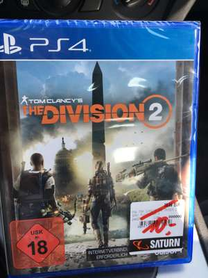 [Lokal] Kempten Saturn - Tom Clancy The Division 2 PS4