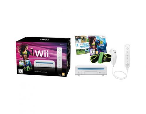 [meinpaket.de] Nintendo Wii Zumba Fitness 2 Pack weiß für 137,61€ inkl. Versand