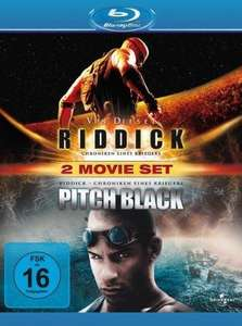 Blu-ray Pitch Black/Riddick (Doppelpack) bei Amazon.de für 8,97€