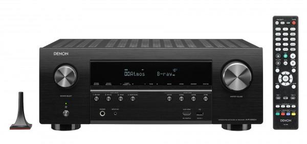 Denon AVR-S950H 7.2 AV-Receiver (500W, 90W/Kanal 8Ω, 125W/Kanal 6Ω, HDR, Dolby Vision & Atmos, 8x HDMI 2.0, Audyssey MultEQ, HEOS, AirPlay 2