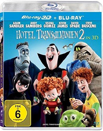 Hotel Transsilvanien 2 (3D Blu-ray + Blu-ray) für 5,97€ (Amazon Prime)