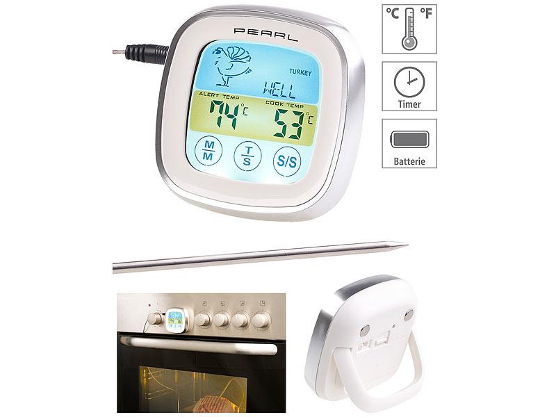 Gratis Rosenstein & Söhne Digitales Braten- & Ofenthermometer + 4,95€ Versandkosten