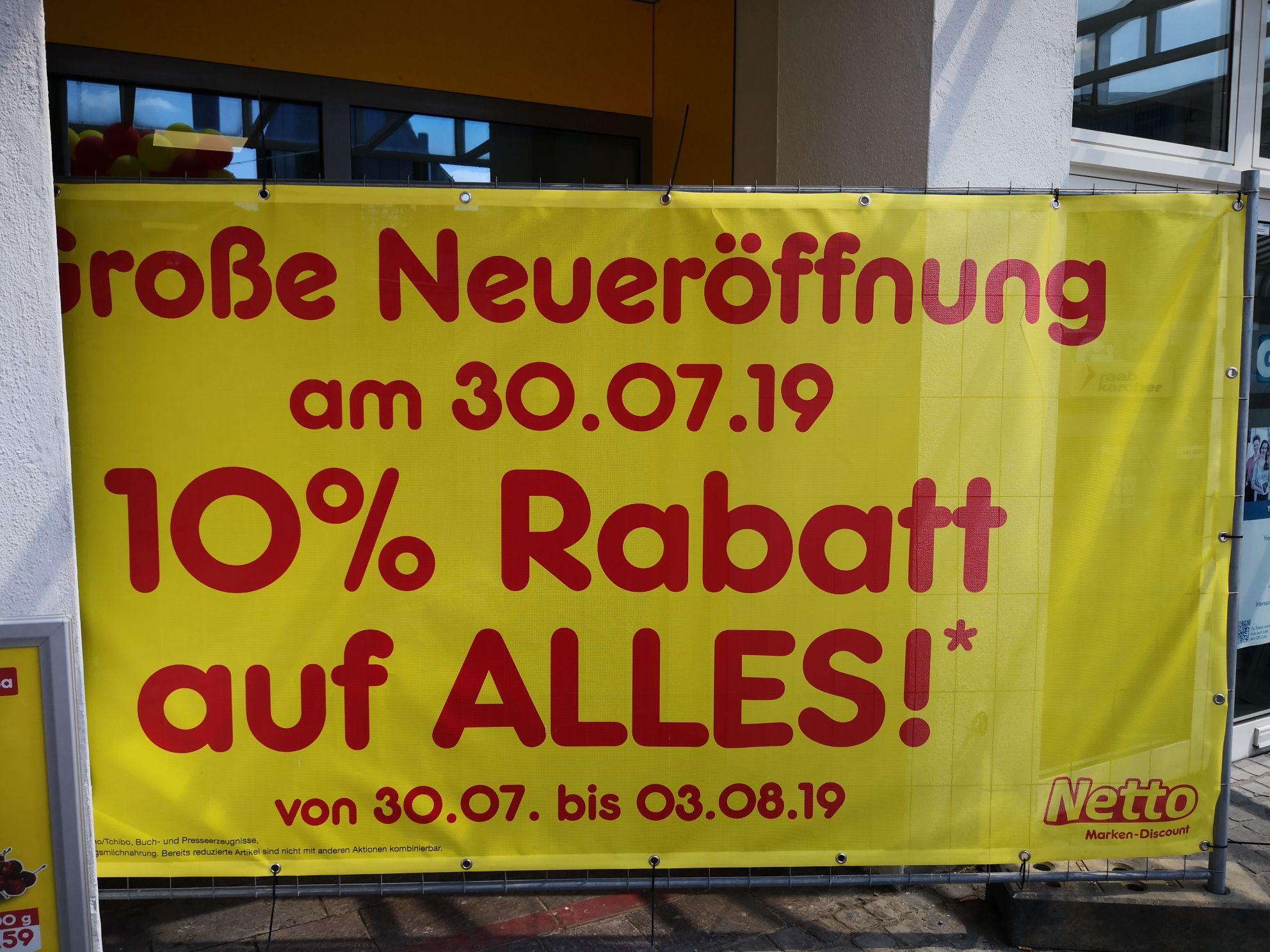[lokal] Netto Gelsenkirchen 10% auf alles