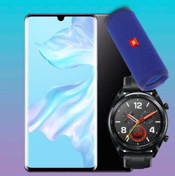 Huawei P30 Pro + Huawei Watch GT + JBL Flip 4 für 4,99€ ZZ mit Telekom Magenta Mobil M: z.B. Young & MagentaEINS (19GB LTE) für 883,74€ *UPDATE*