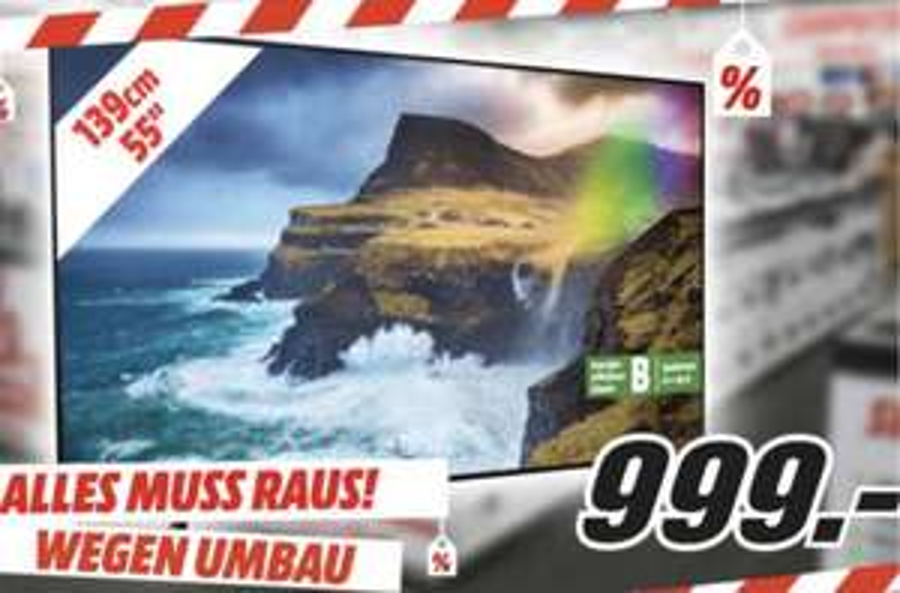 Lokal MediaMarkt Lippstadt: SAMSUNG GQ55Q70RGT QLED 138cm 4K UHD SMART TV für 999€ - Jura S80 für 999€ - Bose QC 35 II für 239€