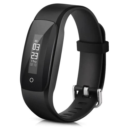 Fitness Tracker D6 für 5,03€ bei Gearbest, NRF52832 mit Pulssensor und Oled Display