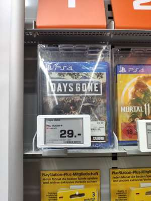 PS4 Days Gone - Saturn Offenbach [Lokal]