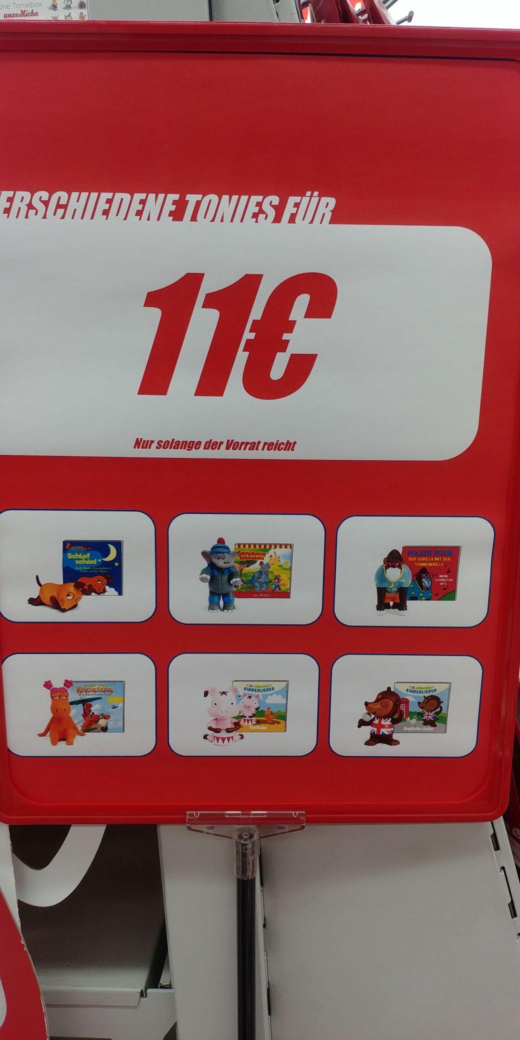 [Lokal] Mediamarkt Heidelberg Rohrbach - diverse Tonie Figuren für 11 Euro