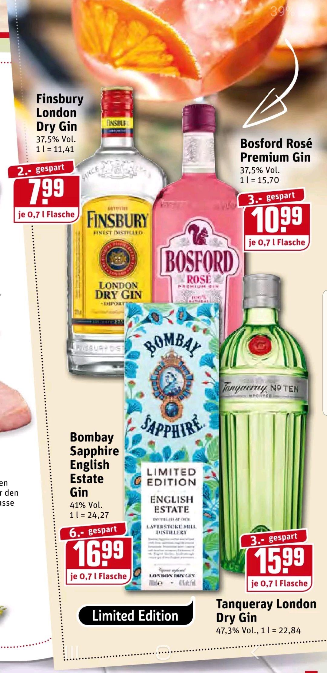 [Lokal] Rewe Dortmund - Bombay Sapphire English Estate Limited Gin