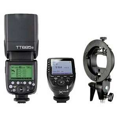 Godox TT685S TTL HSS Blitz Blitzgeräte + XPro-S Trigger