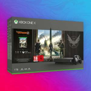 Xbox One X 1TB - The Division 2 Bundle