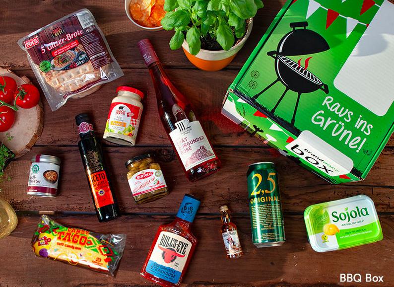 brandnooz BBQ Box - einmalige Lieferung - Produkte zum Grillen im Wert von ca. 30€