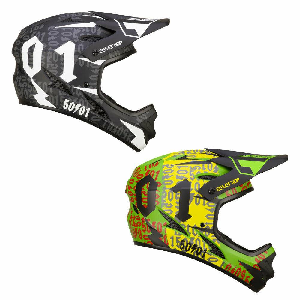 MTB Fullface Helm 7 iDP M1 50:01 - 2019 (2 Farben)