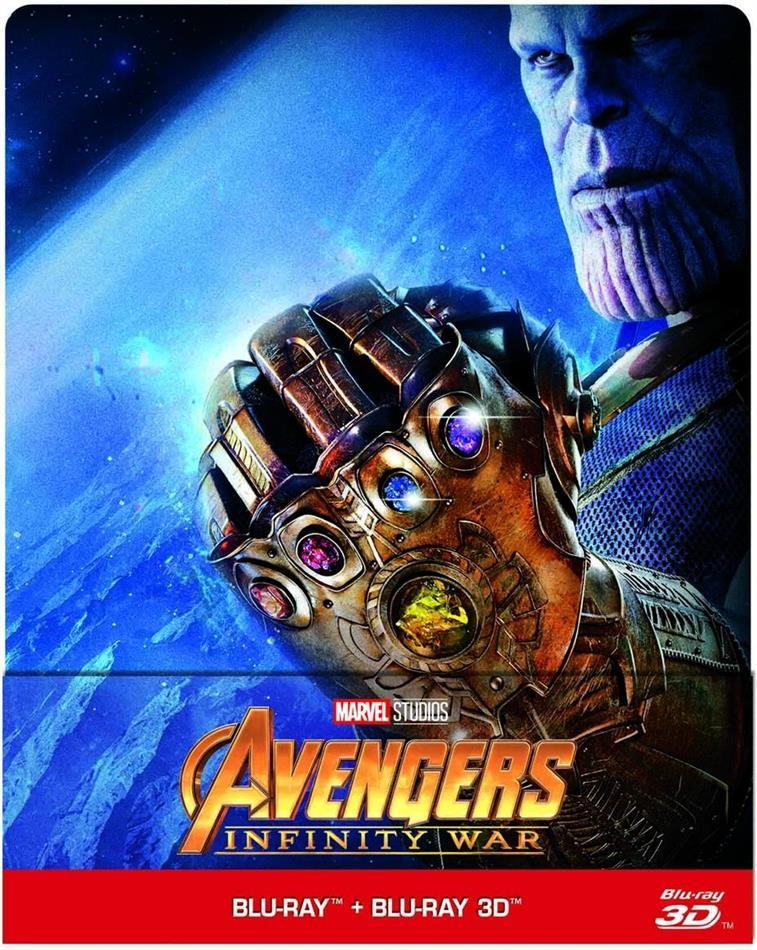 Avengers: Infinity War 3D Limited Steelbook Edition (3D Blu-ray + Blu-ray) für 20,49€ (Cede)