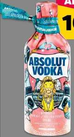Absolut Vodka Limited Festival-Edition ¦ 0,7l 40% ¦ bei [NETTO Scottie] ab 08.08.