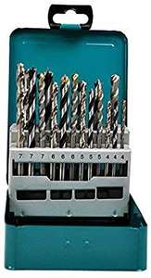 Makita d-47173gemischt Bohrer Set Metall Box