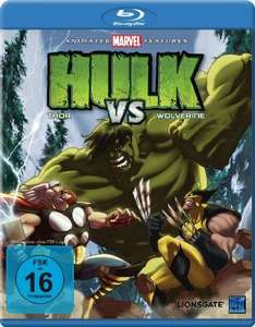 Hulk vs. Thor & Wolverine (Blu-ray) für 5,97€ (Amazon Prime)