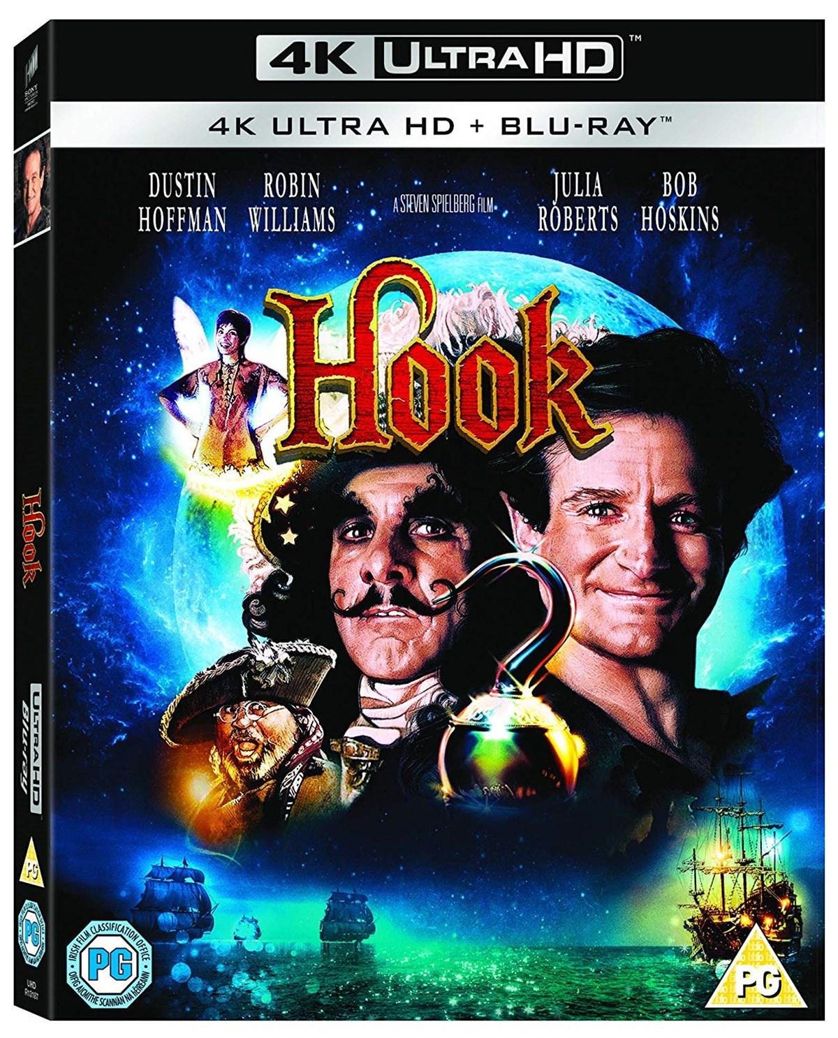 Hook (4K Blu-ray + Blu-ray) für 11,99€ inkl. Versand (Zoom UK)