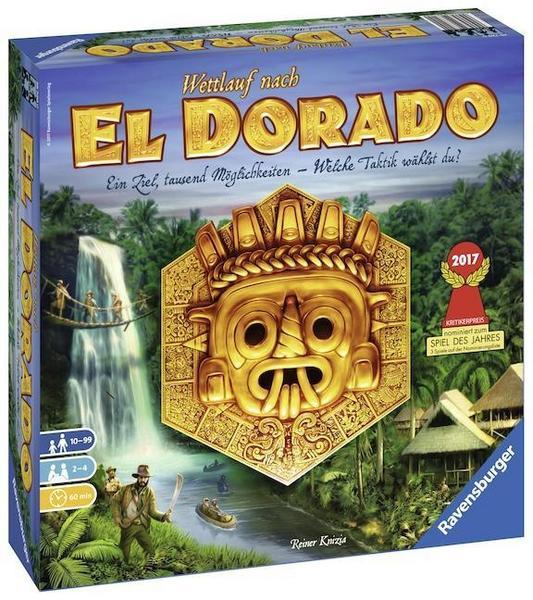 Gesellschaftsspiel: Wettlauf nach El Dorado von Ravensburger
