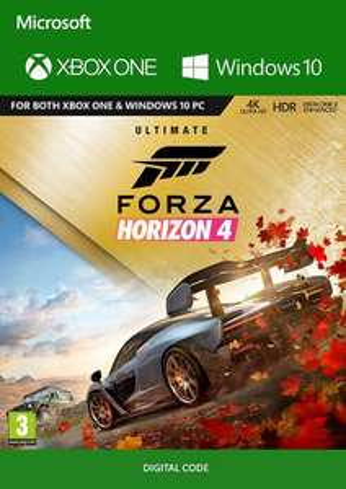 Forza Horizon 4: Ultimate Edition (Xbox One/PC Digital Code Play Anywhere) für 41,52€ (CDkeys)