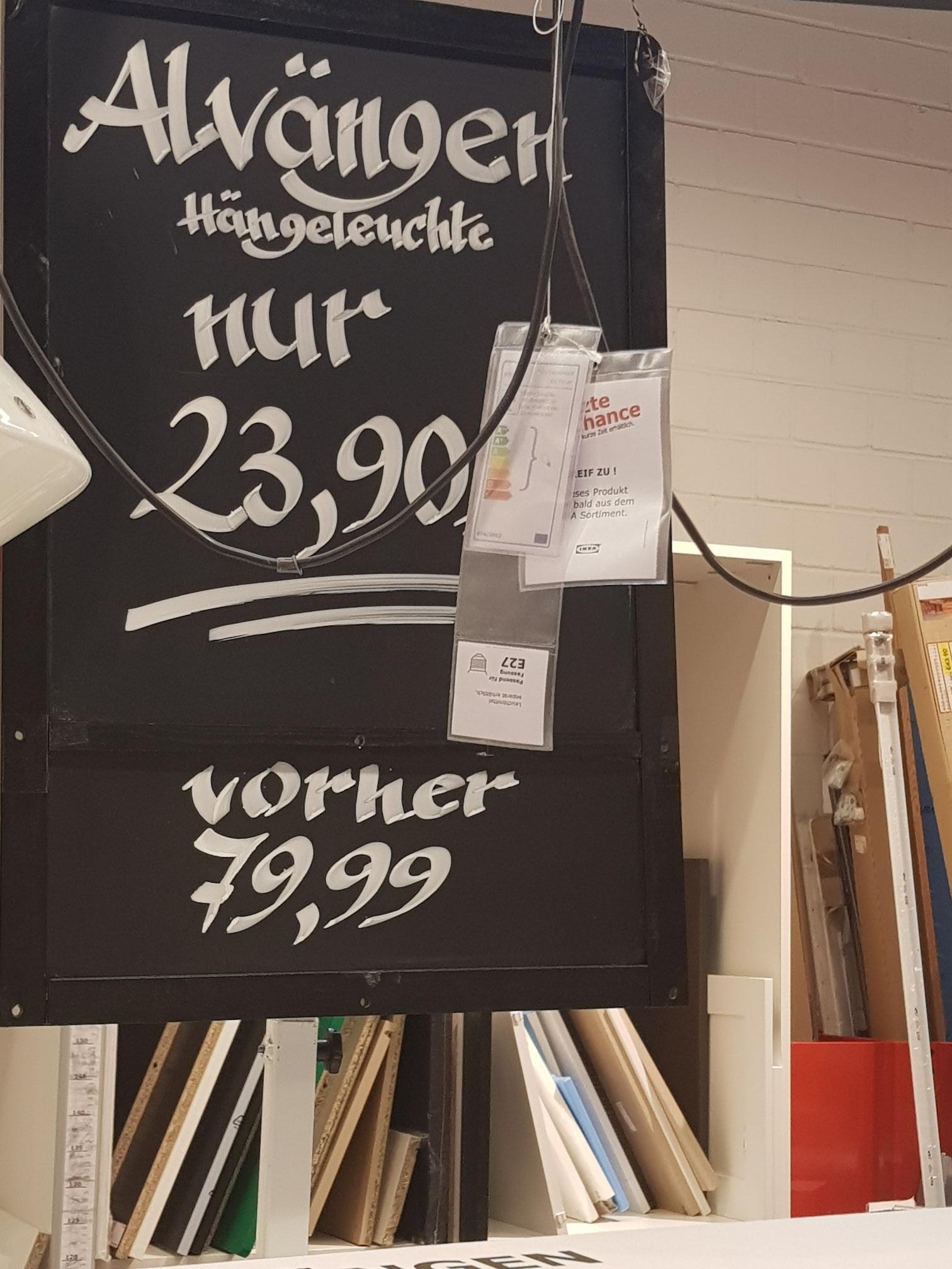 [LOKAL] Ikea Leipzig/Halle - Älvängen 2er Hängeleuchte