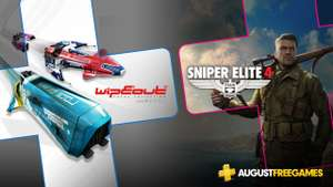 Playstation Plus August: Wipeout Omega Collection + Sniper Elite 4 (PS4)
