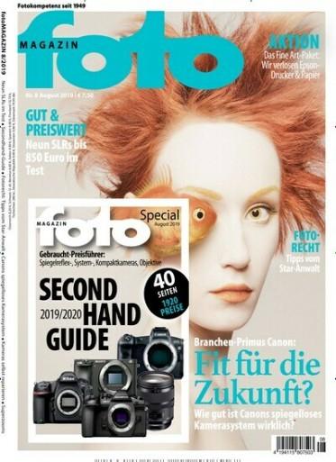 Foto Magazin Abo (12 Monate) für 91,40 € mit einem 85€ Amazon Gutschein
