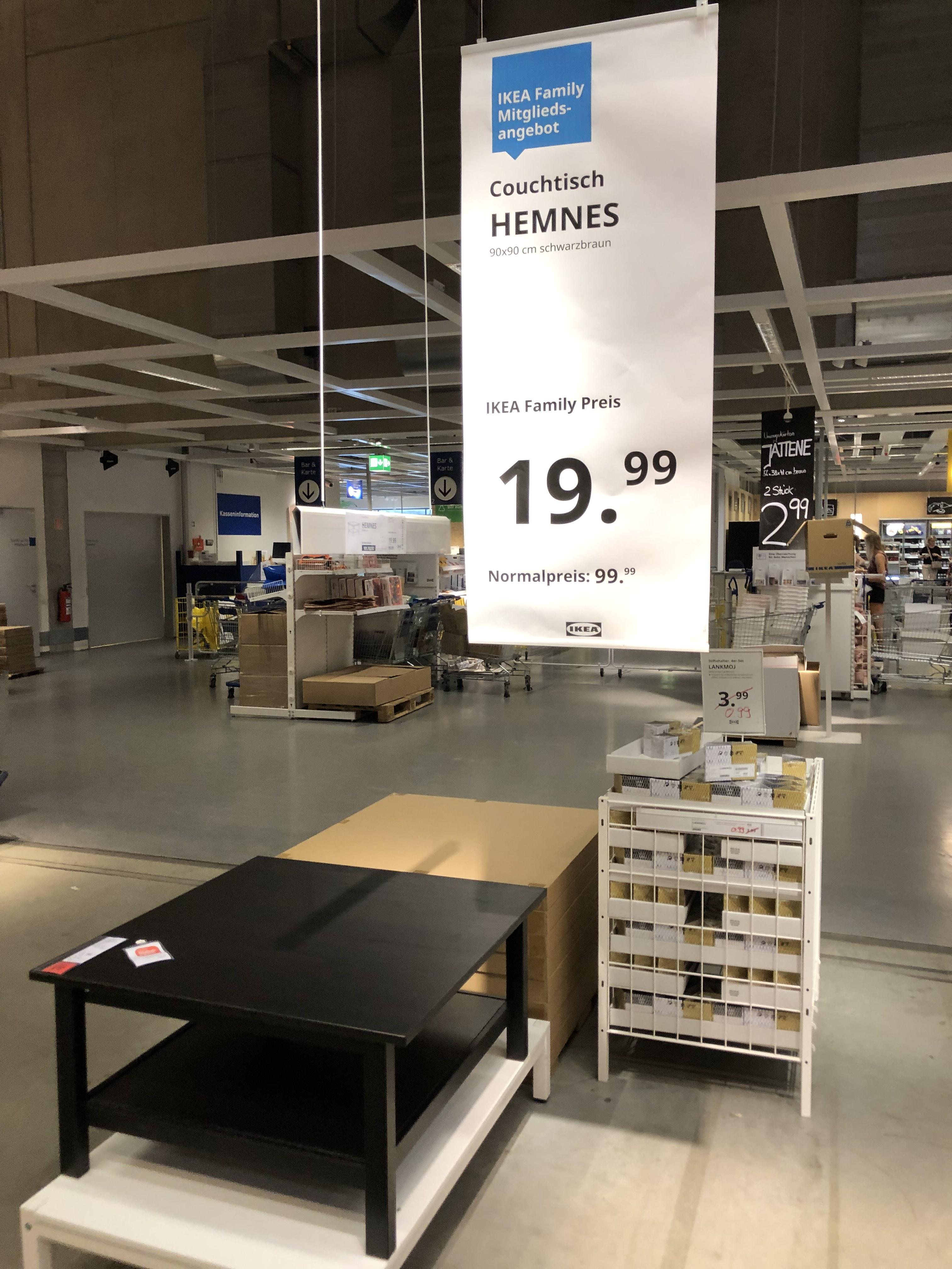 IKEA Hemnes Couchtisch Schwarzbraun - Hannover/Laatzen [Lokal]