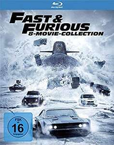 Fast & Furious 8-Movie-Collection [Blu-ray] [Amazon Prime]
